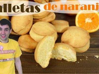 Galletas de naranja, caseras y fáciles pastas.