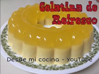 Gelatina de Refresco. Gelatin of Soft Drink. Soda Gelatin - too easy to do - Facil de hacer