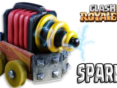 How to Make SPARKY. CHISPITAS   Clash Royale   Cold Porcelain. Polymer Clay Tutorial