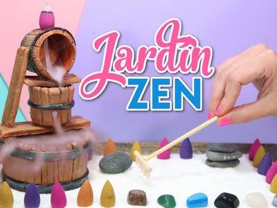 Increible fuente de humo que puedes hacer - manualidades faciles para hacer en casa - jardin zen DIY
