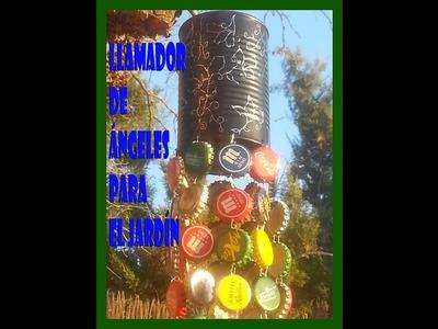 Llamador de ángeles para el jardín♣