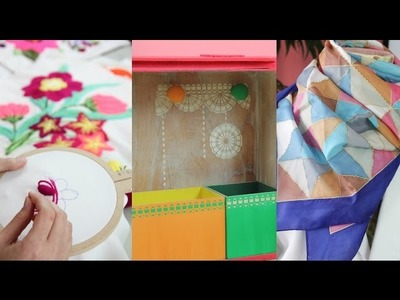 Manos a la Obra TV Programa 10 - Chalk Paint - Pintura en Seda - Bordado