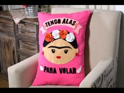 Manualidad   Cómo Hacer un Cojín De Frida Kahlo