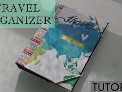 ORGANIZADOR DE VIAJE | Travel organizer | Scrapbooking tutorial