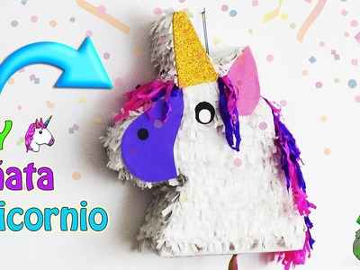 Piñata Unicornio paso a paso - Ecobrisa DIY