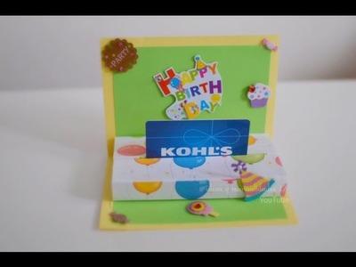 Tarjeta para regalar una tarjeta de Regalo (Gift Card)