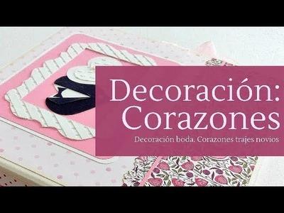 TIPS DE CORAZONES + ALBUM DE BODA DIFERENTE - TUTORIAL | LLUNA NOVA SCRAP