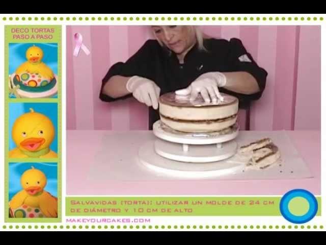 Tutorial de decoración de tortas - Cómo hacer una torta 3D para tu bebé