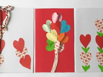 3 Tarjetas para el dia de San Valentin faciles Manolidades Tutoriales