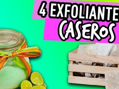 4 Exfoliantes Caseros totalmente Naturales - ¡Las mejores 4 recetas para Piel perfecta! Cat&Beauty