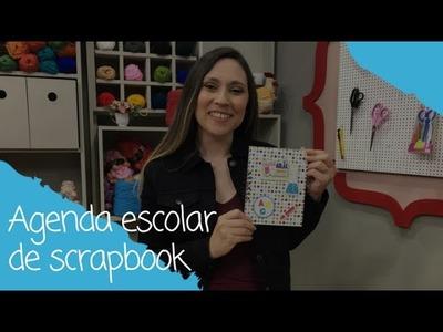 Agenda escolar de scrapbook - 07.06.17