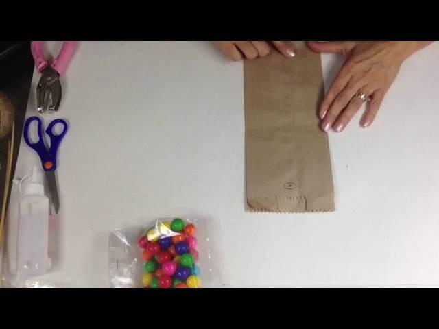 Bolsas de papel decoradas PARTE 2