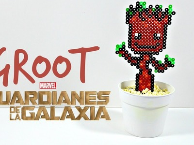 Como Hacer a Baby Groot de Guardianes de la Galaxia 2 con Hama Beads | Tierras de Rol