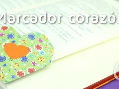 Cómo hacer un marcapáginas en forma de corazón | facilisimo.com