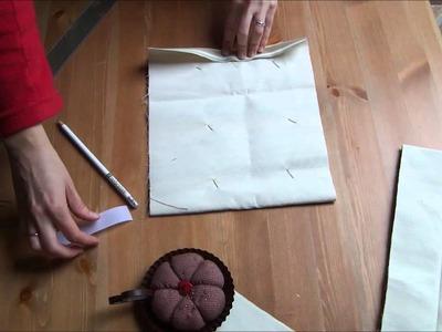 Cómo hacer un Saco termico de maiz