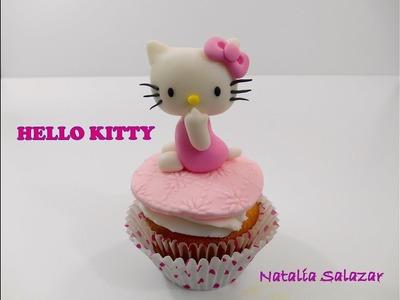 Cómo hacer una Hello Kitty en fondant. Fácil ????????