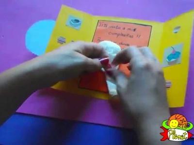 Como realizar tu invitación en un globo
