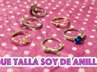 ¿Cómo saber qué medida eres de anillo? :)   Lau Kudo
