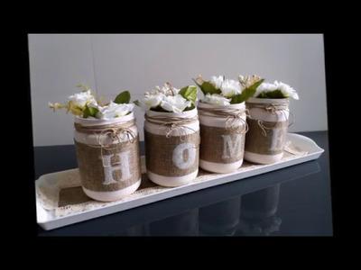 Decoración y reciclaje de frascos de cocina II