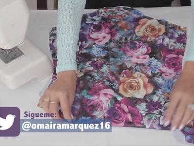 DIY Body con Gola Olan Parte 2-Omaira Tv