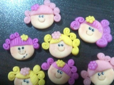 DIY ♥ Caritas En Porcelana Fria ♥