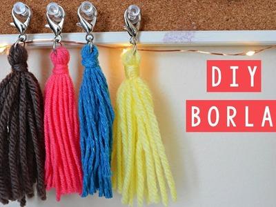 DIY - COMO HACER UNA BORLA   Danii's Ways EXPRESS ♡