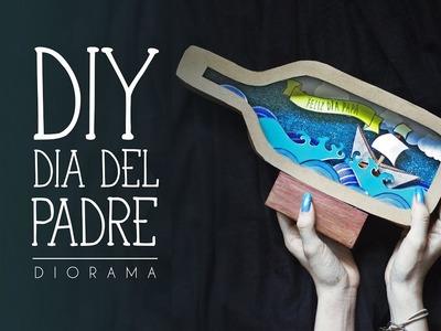 DIY DÍA DEL PADRE I DIORAMA DE CAJA