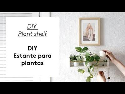 Diy estante para plantas