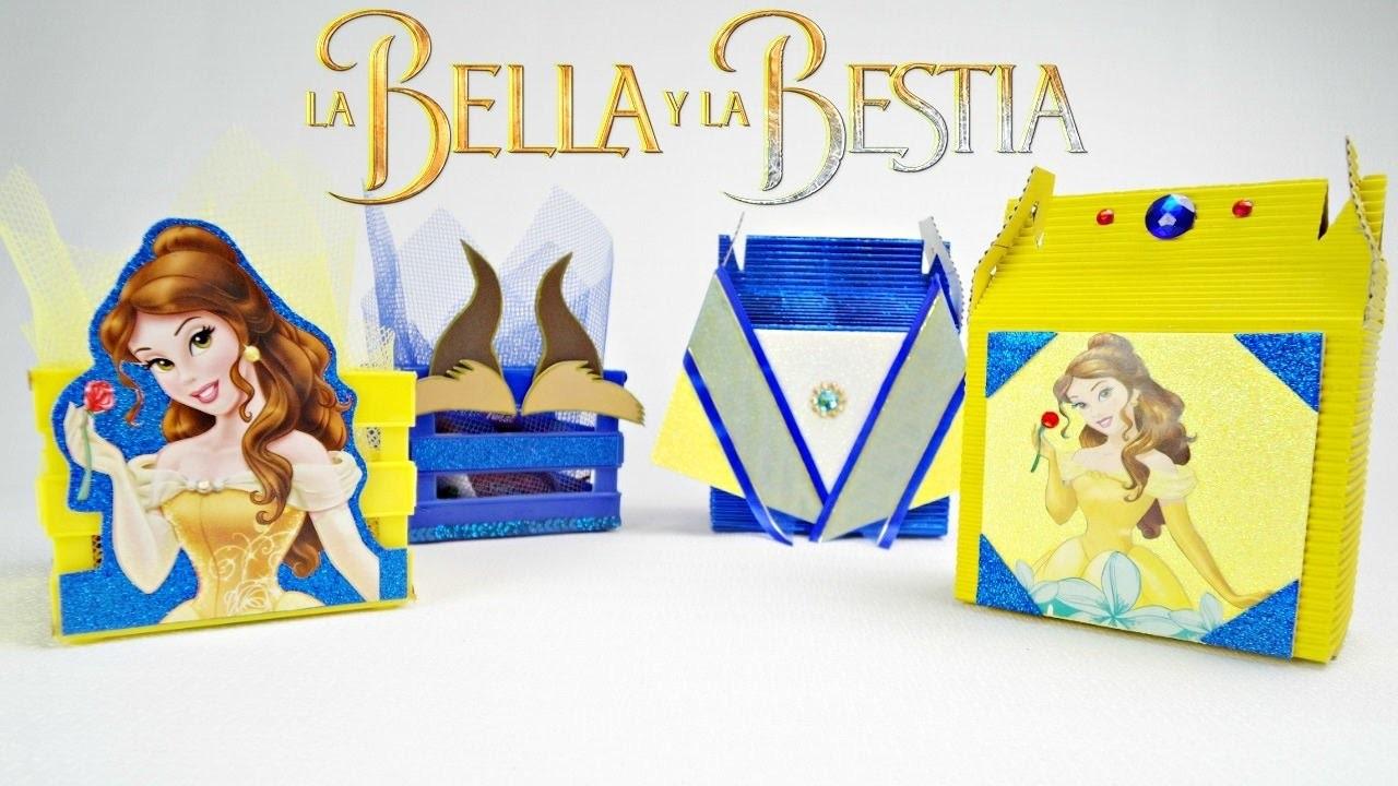 Dulceros La Bella Y La Bestia Como Decorar Fiesta