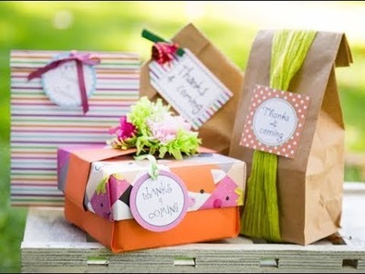 Etiquetas de regalo DIY ????- Etiquetas 'Gracias x Venir'