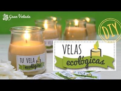 Hacer velas ecológicas como detalle de boda