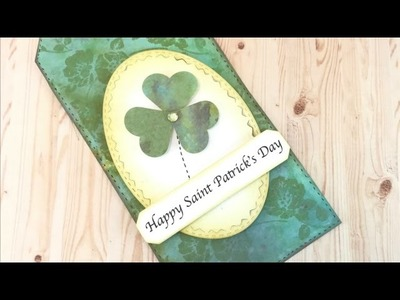 Happy St. Patrick! Big Shot and Distress Oxide Tutorial. ENGLISH