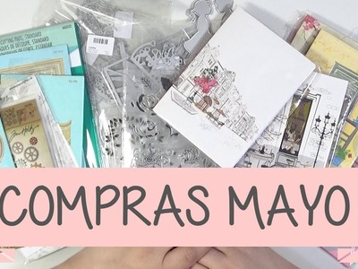 Haul Scrapbooking Mayo 2017 | Aliexpress, Amazon y bazares.