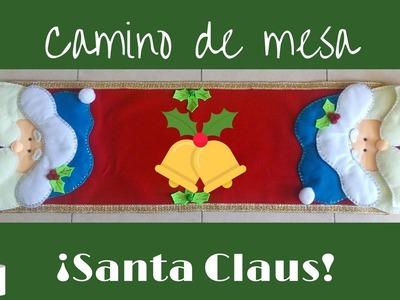 ¡Camino de mesa Santa Claus!