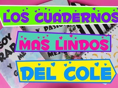 IDEAS PARA DECORAR CUADERNOS! REGRESO A CLASES 2017  Lorena G ♥