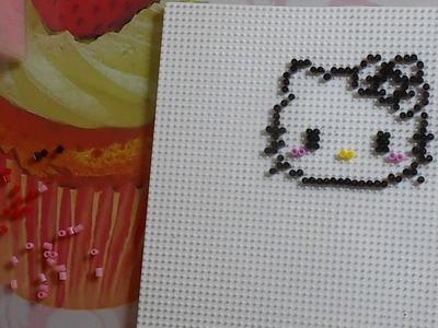 Llavero Hello Kitty Hama Beads Mini