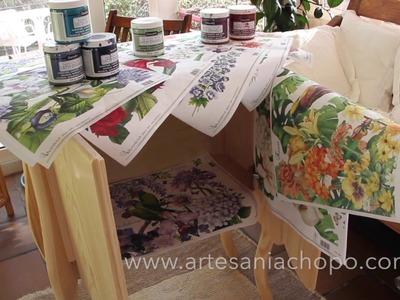 Lo último en decoración: papel selva