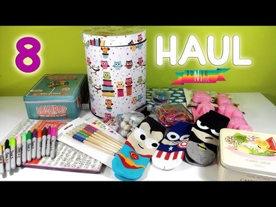 Materiales de Manualidades HAUL 8 DONLUNATIC