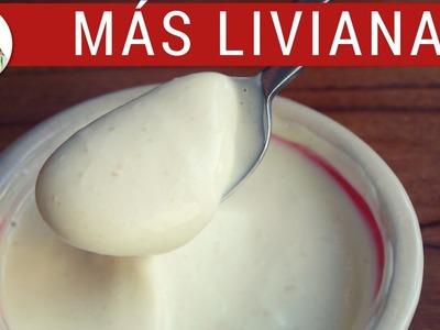 Mayonesa fácil SIN HUEVO (y técnica fácil para hacer mayonesa)