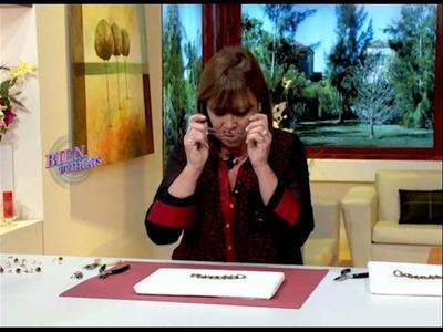 Mónica De Grau - Bienvenidas TV - Realiza un collar con cristales y perlas.