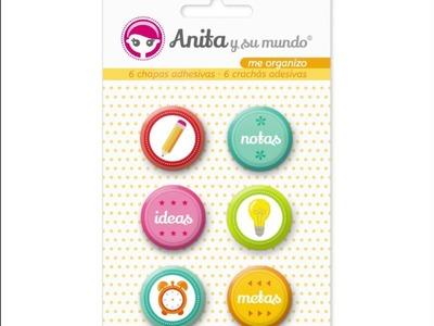 Nueva Colección Me organizo de Anita y su mundo scrapbooking