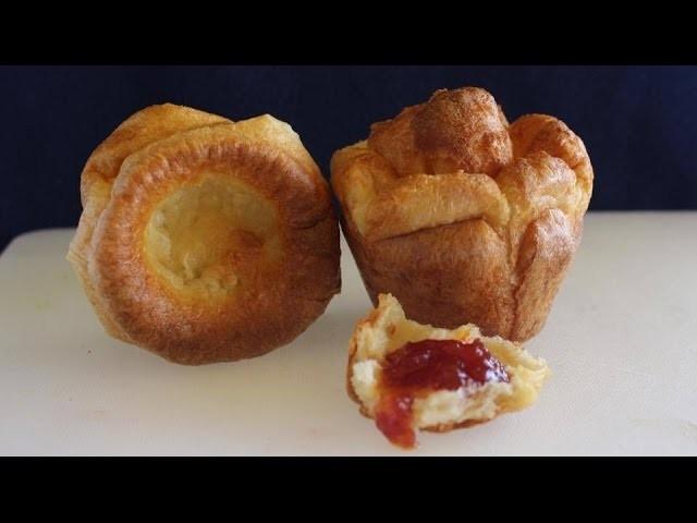 Pan de 3 ingredientes sin levadura y en sólo 20 minutos | Yorkshire pudding | popovers