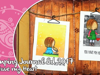 Stamping Journal  1:  You have my heart