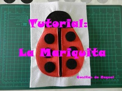 Tutorial: La Mariquita - Libro Sensorial.Quiet Book