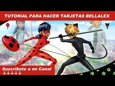 Tutorial: TARJETA Ladybug || Miraculous Ladybug para party ♥
