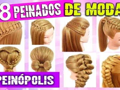 8 Peinados Casuales con Trenzas para Cabello Largo para Cada Dia Faciles y Rapidos
