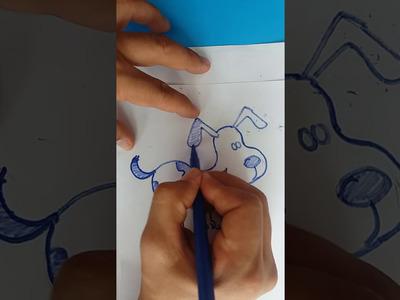 Como dibujar un perro. How yo draw a dog