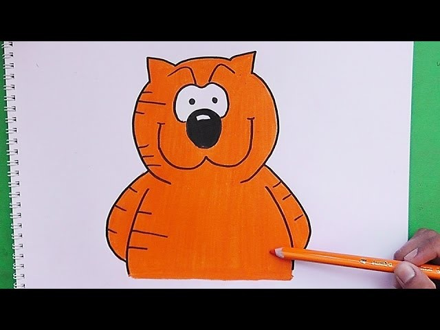 Como dibujar y colorear a Heatchcliff - How to draw and color a Heatchcliff