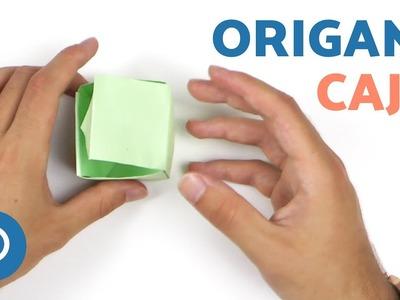 Cómo hacer una CAJA de ORIGAMI - Origami fácil