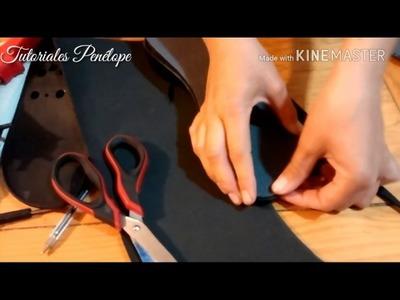 Material para preparar plantillas parte 3 (elaboración de plantilla)
